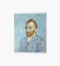 Vincent van Gogh - Self Portrait Art Board
