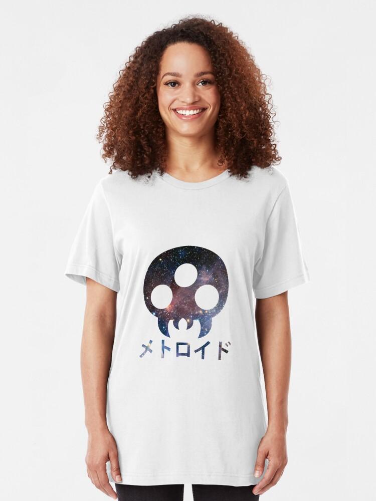 Alternative Ansicht von Metroid Slim Fit T-Shirt