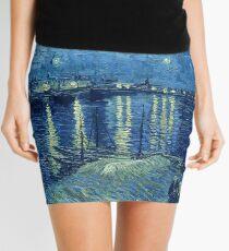 Minifalda Vincent van Gogh - Noche estrellada sobre el Ródano