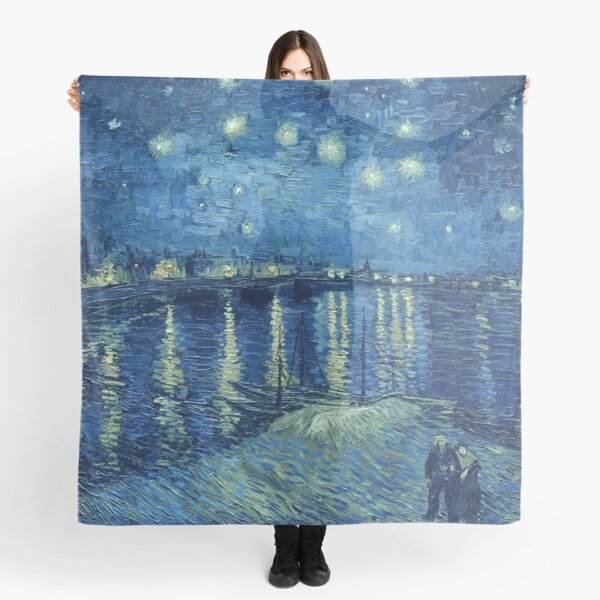 Vincent van Gogh - Starry Night over the Rhone Scarf