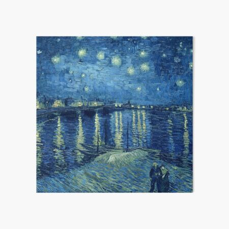 Vincent van Gogh - Starry Night over the Rhone Art Board Print