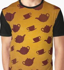March Hare Teapots Graphic T-Shirt