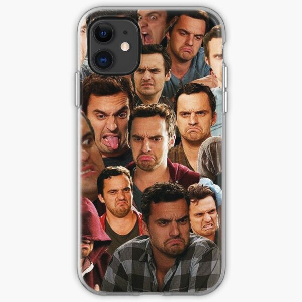 New Girl - Nick Miller iPhone Soft Case