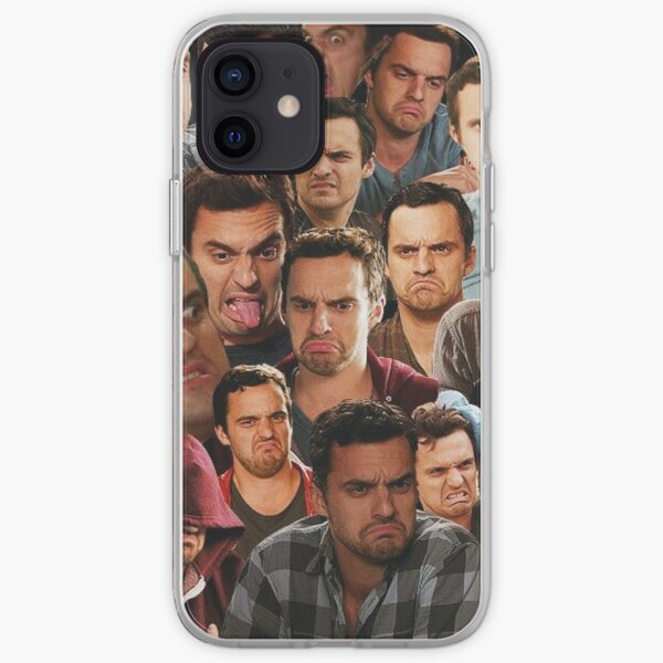 Nouvelle fille - Nick Miller Coque souple iPhone