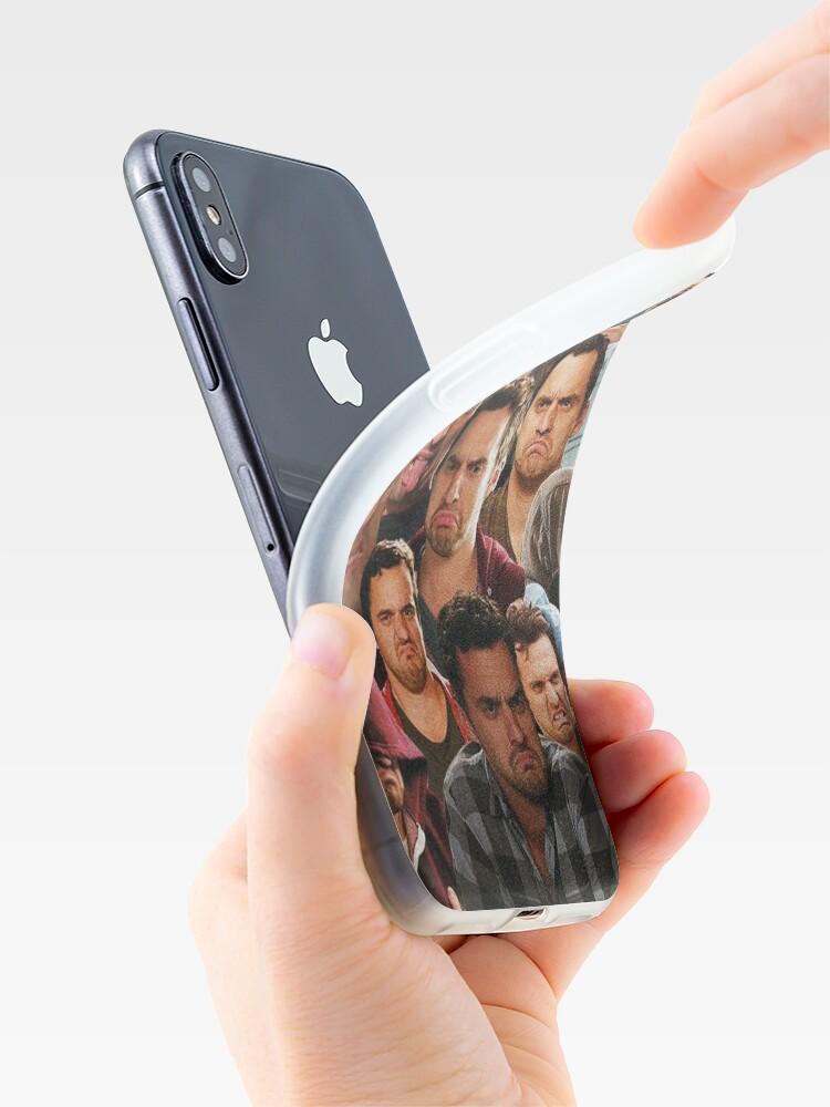 Vista alternativa de Vinilos y fundas para iPhone Chica nueva - Nick Miller
