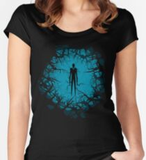 SlenderMan! Women's Fitted Scoop T-Shirt