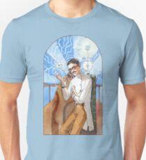 Nikola Tesla - The Magician Unisex T-Shirt