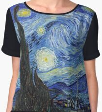 Vincent van Gogh - Starry Night Women's Chiffon Top