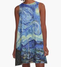Vincent van Gogh - Starry Night A-Line Dress