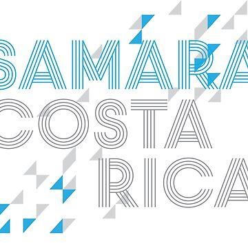 Samara Costa Rica Shirt by hiltondesigns