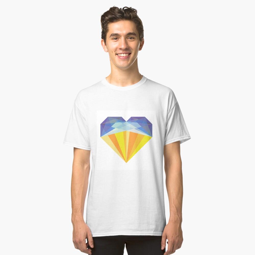Crystal Heart Classic T-Shirt