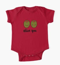 Olive You  One Piece - Short Sleeve