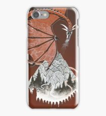 Hobbit illustration 1 iPhone Case/Skin