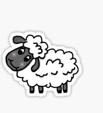 Blushing Lamb Sticker