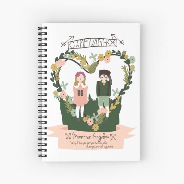 Wes Anderson's Moonrise Kingdom Spiral Notebook
