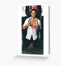 Channing Tatum Greeting Card