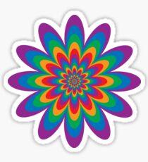 Unendliche Blume Sticker