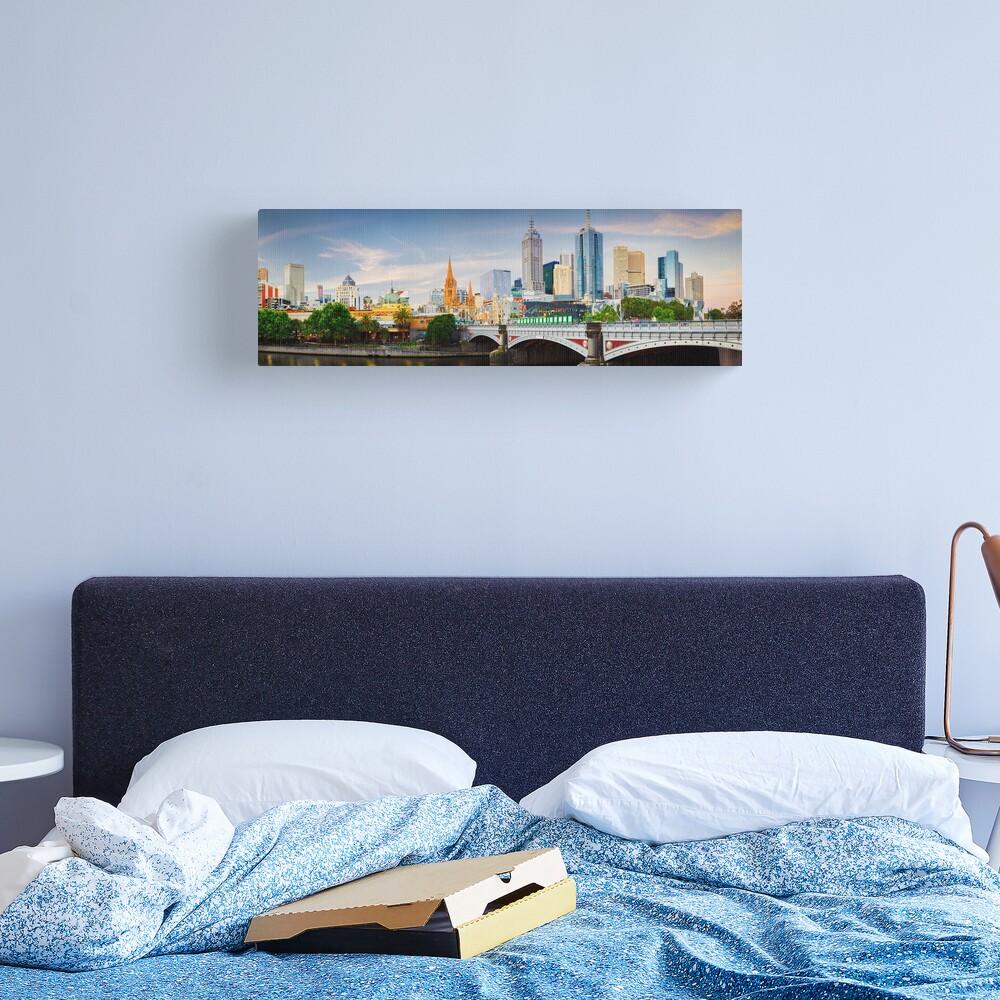 Princes Bridge, Melbourne, Victoria, Australia Canvas Print
