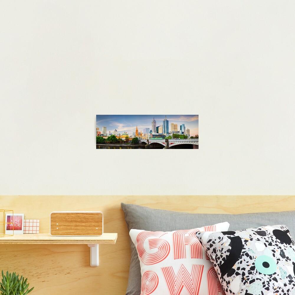 Princes Bridge, Melbourne, Victoria, Australia Photographic Print
