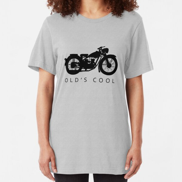 Canadian Soul Biker Attitude Womens Biker T-Shirt Motorbike Motorcycle Bike