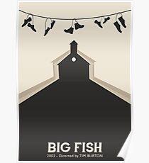 Tim Burton's Big Fish Poster
