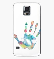 Watercolor Jeep wave Case/Skin for Samsung Galaxy