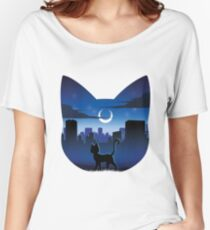 Luna Silhouette Women's Relaxed Fit T-Shirt
