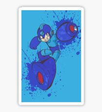 Mega Man Joins The Battle Sticker