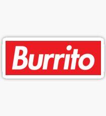 Burrito Supreme Sticker