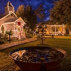 Christmas at Vieux Village  by Bonnie T.  Barry