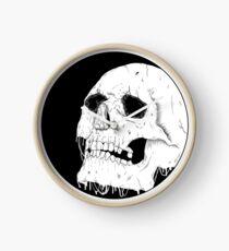 Melting Skull Clock
