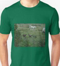cock fighting pheasant style Unisex T-Shirt