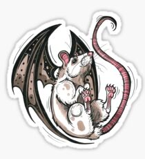 Bat Rat Sticker