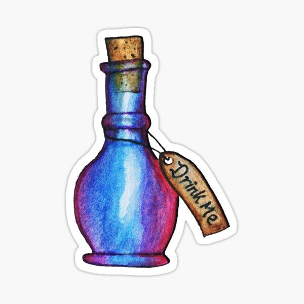 Drink Me | Alice In Wonderland  Sticker