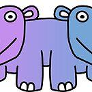 Push-Me-Pull-Hippo by codyjoseph