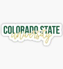 Colorado State University - Style 13 Sticker