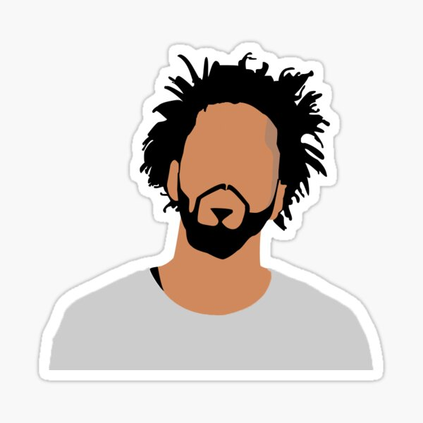 J. Cole Sticker Sticker