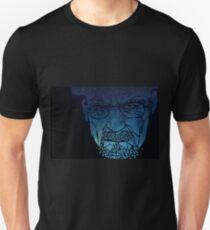Breaking Bad - Heisenberg - Shattered - Black Background T-Shirt