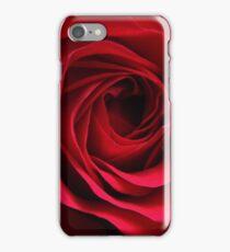 Crimson Red Romantic Rose iPhone Case/Skin