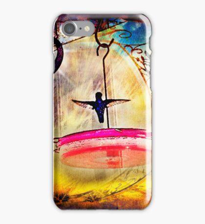 Little Dancing Hummingbird iPhone Case/Skin
