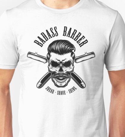 Badass Barber Unisex T-Shirt