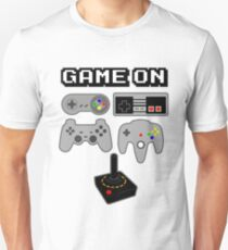 Game On Retro Video Game Controller Poster T-Shirt