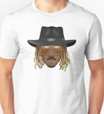 Future Emoji wearing Hat and Sunglasses Unisex T-Shirt
