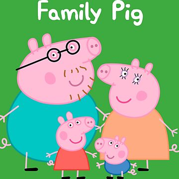 Family pig by yolandamartinez