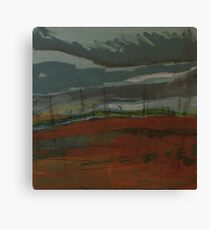 travelling home from northumberland Canvas Print