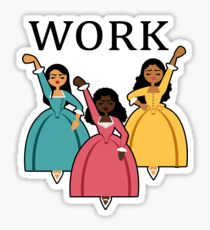 Sisters WORK! Sticker