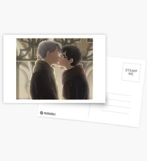 Der Kuss, der dort hätte sein sollen Postkarten