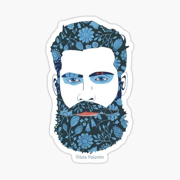 Beard Power Sticker