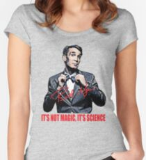 bill nye Women's Fitted Scoop T-Shirt