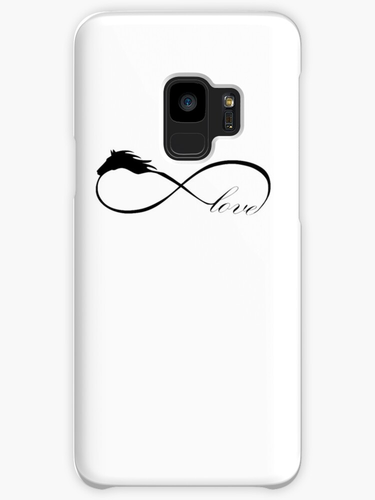 Horse Love Infinite Love Infinity Symbol Cases Skins For Samsung